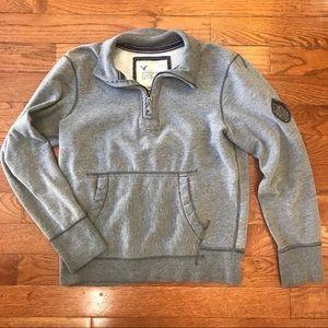 American Eagle Sweatshirt Quarter Zip Medium